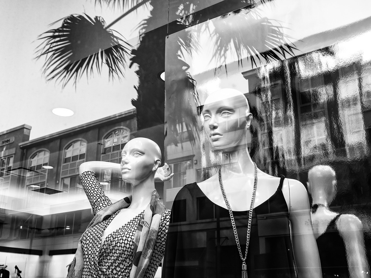 Manikins in the Window #7