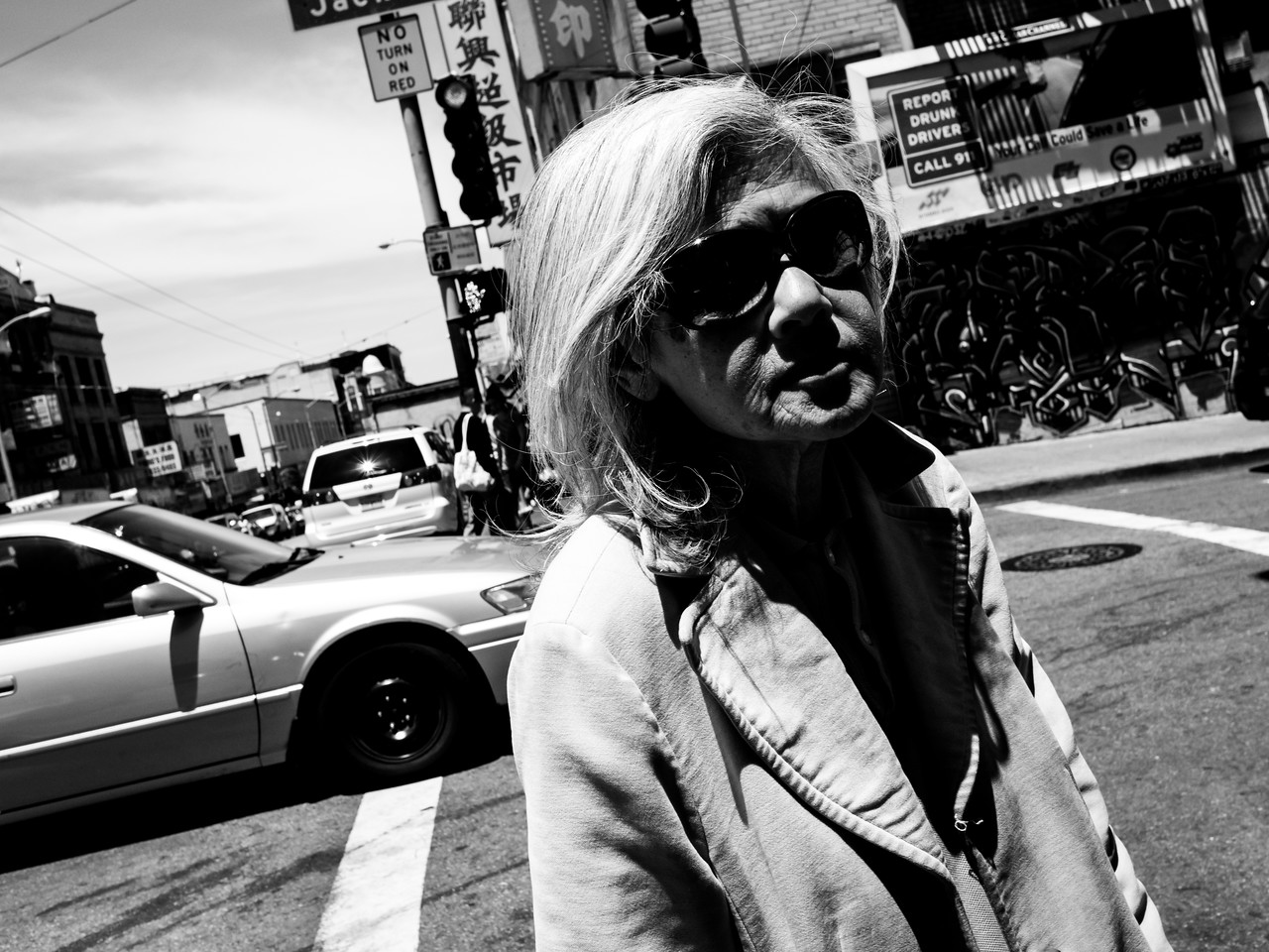 Lady in Chinatown