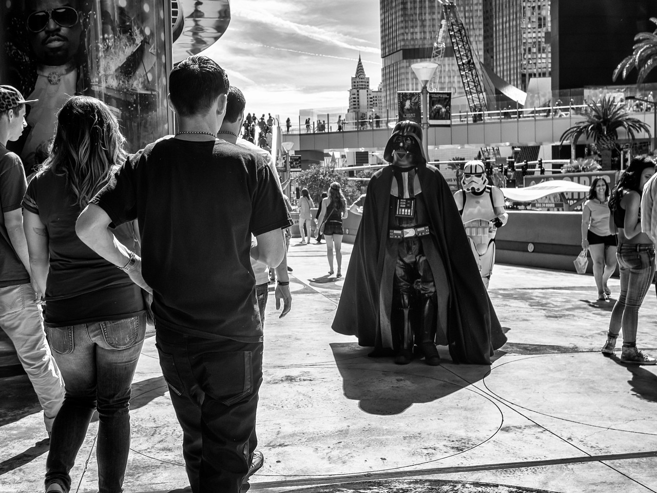 Darth in the City