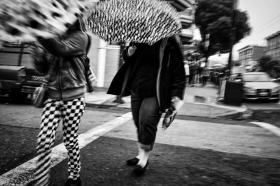 Umbrellas and Checkers
