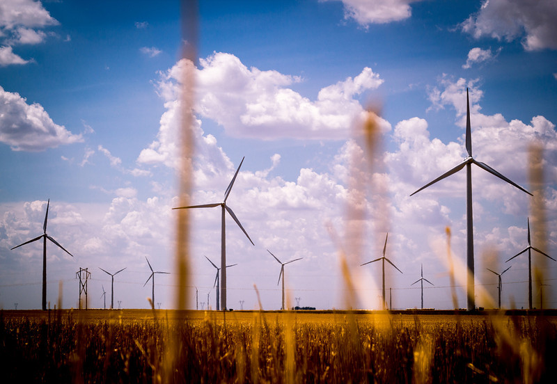 Windmills Through the Plains